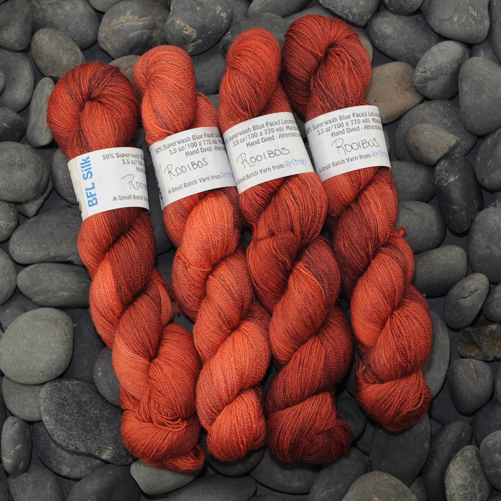 Rooibos on BFL Silk Lace - 100g