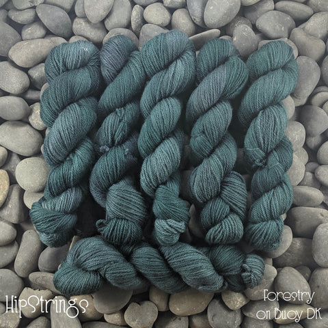 Forestry on Buoy DK (BFL/Shetland/Manx wool) yarn - 100 g