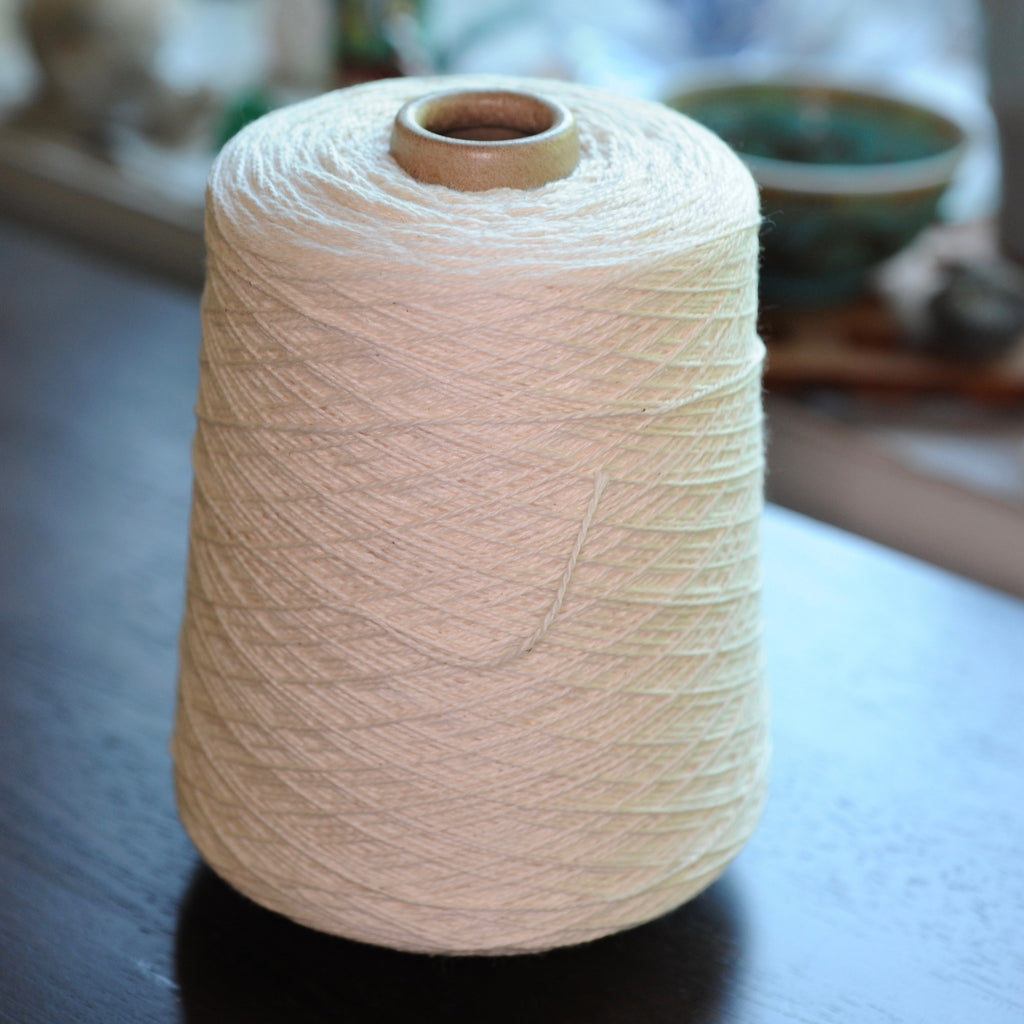 5/2 Weaving Cotton - One Pound Cone, Organic or Dye-lishus