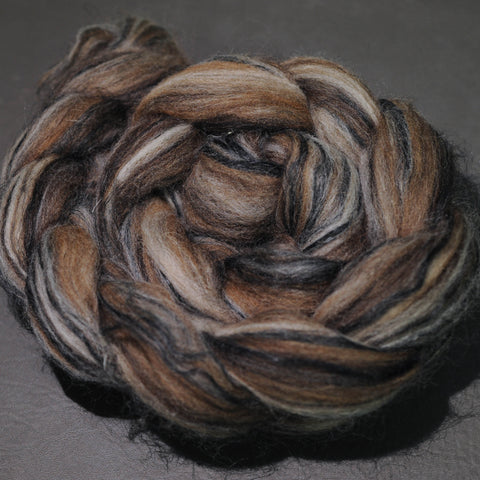 Wild Geese - Shetland BFL Manx Flax Signature Blend - 4 oz