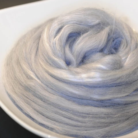 The Grey Lady Merino and Tussah Silk - 4 oz