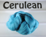Dyed 23 micron Merino Wool Combed Top - 1 oz