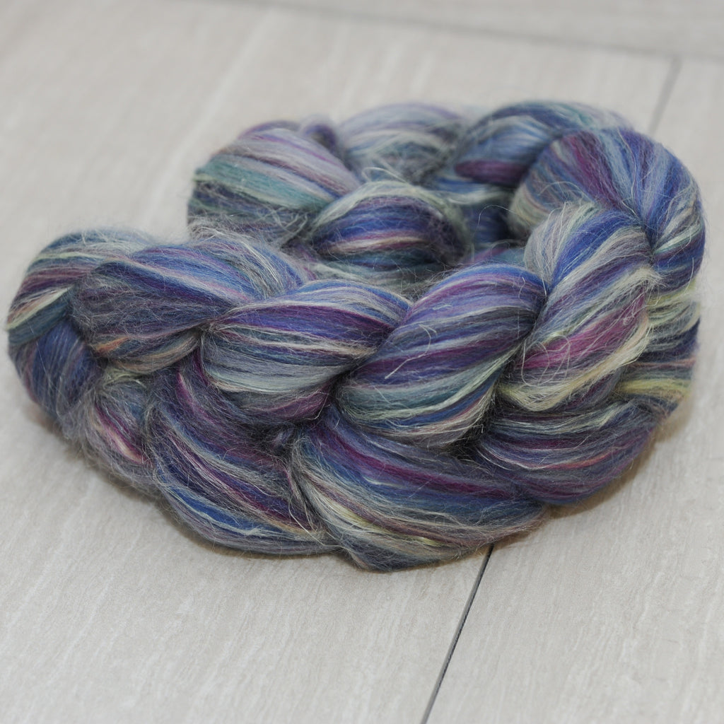 Spring in the Alps Merino Tussah Flax Signature Blend
