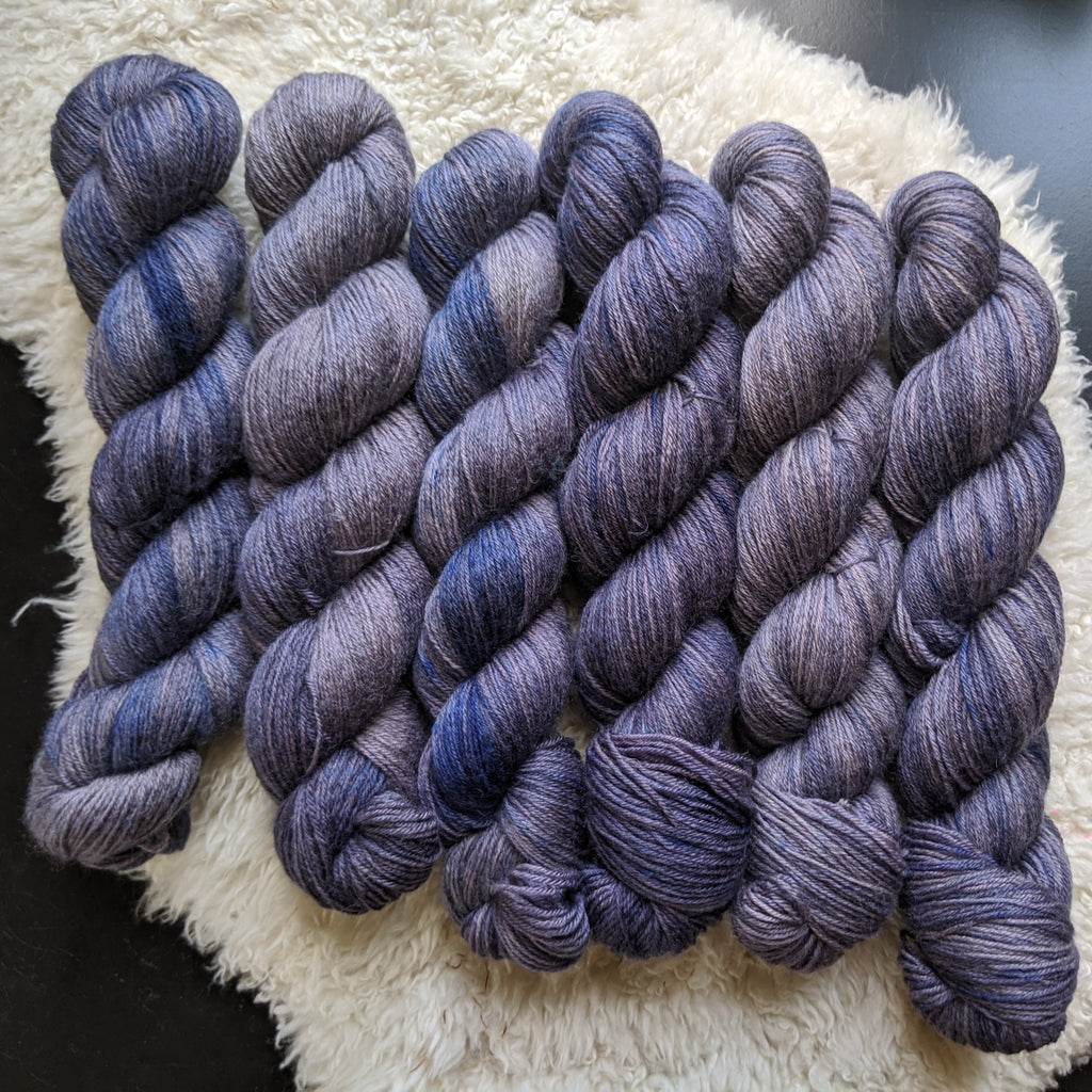 Admiral on Extra Credit SW BFL Nylon Sock yarn