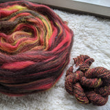 Duquesne Incline Signature Blend (BFL/Shetland/Zwartbles) 4 oz