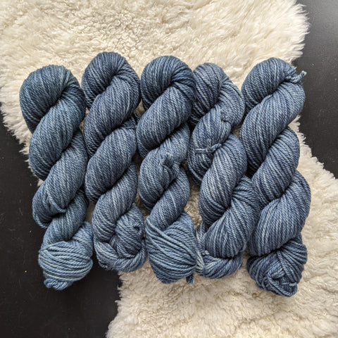 Denim on Merino Bulky - 100 g