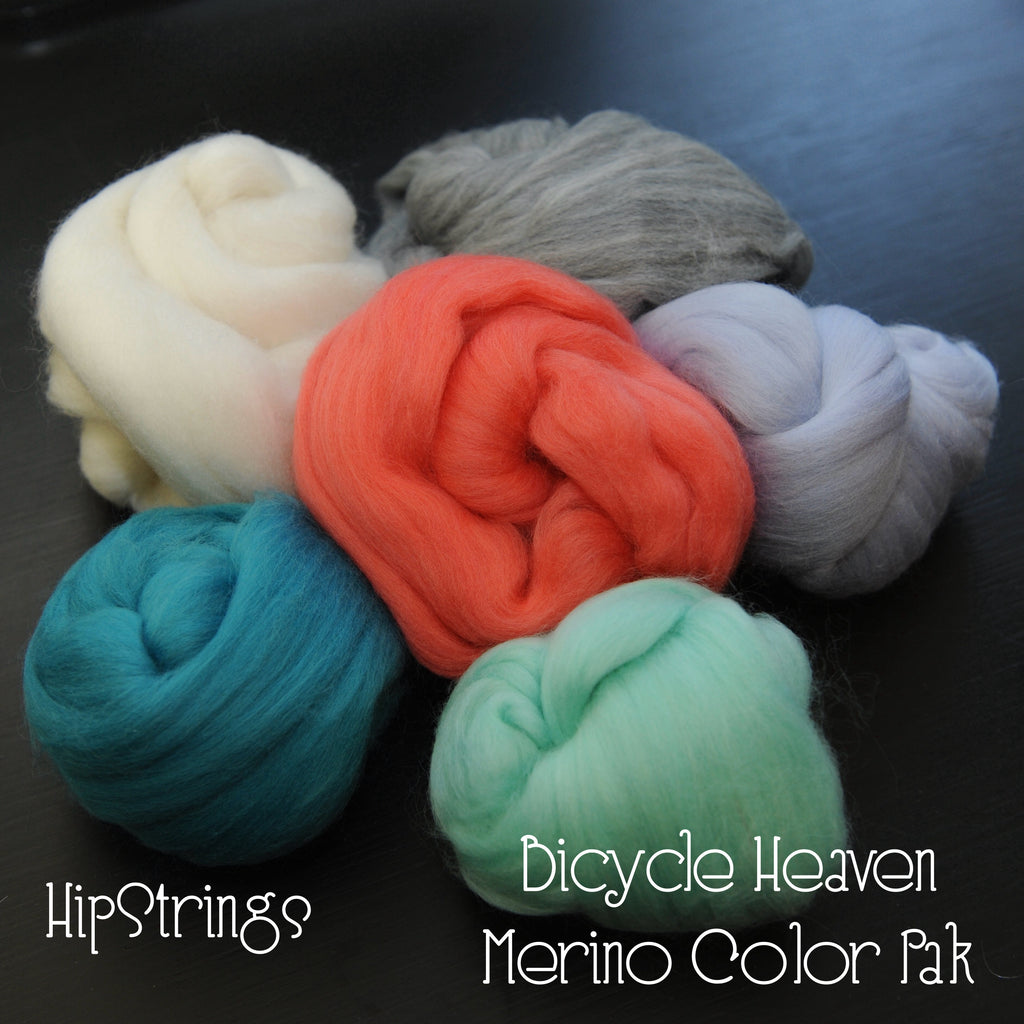 Bicycle Heaven Merino Color Pak - 6 oz