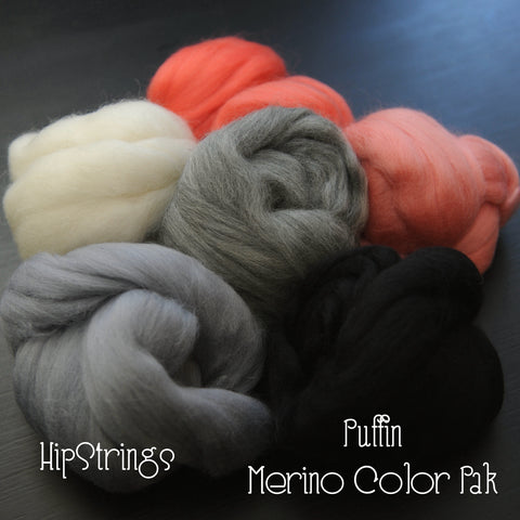 Puffin Rock Merino Color Pak - 6 oz