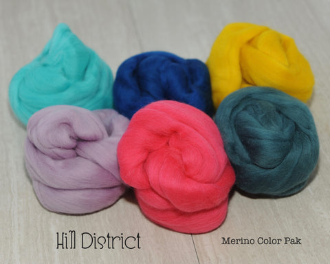 Hill District Merino Color Pak - 6 oz