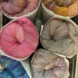 Will it Blend Hand Carded Batts - 4 oz