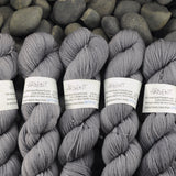 Argent on Polwarth wool DK yarn - 100g