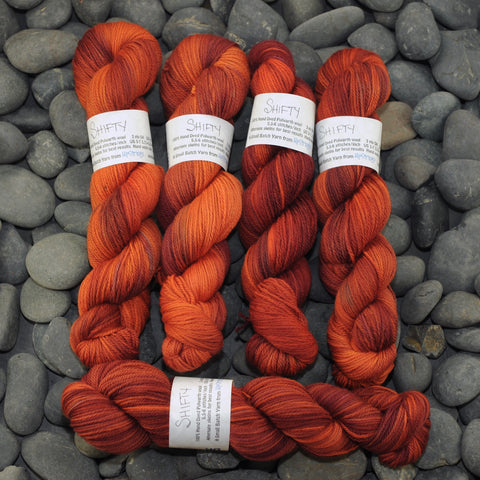 Shifty OOAK on Polwarth DK