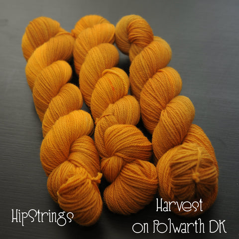 Harvest on Polwarth DK Wool Yarn