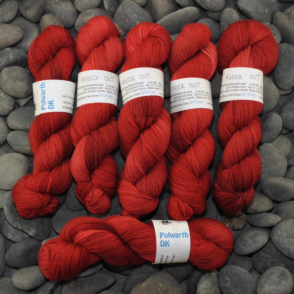Knock Out on Polwarth DK