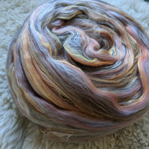 Rose Gold Merino Silk Signature Blend - 4 oz