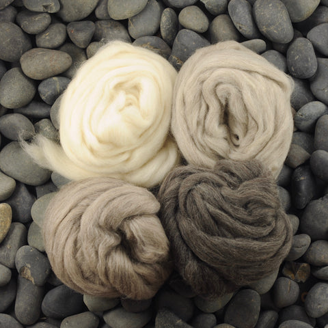 Shades BFL Shetland Natural Gradient - 8 oz