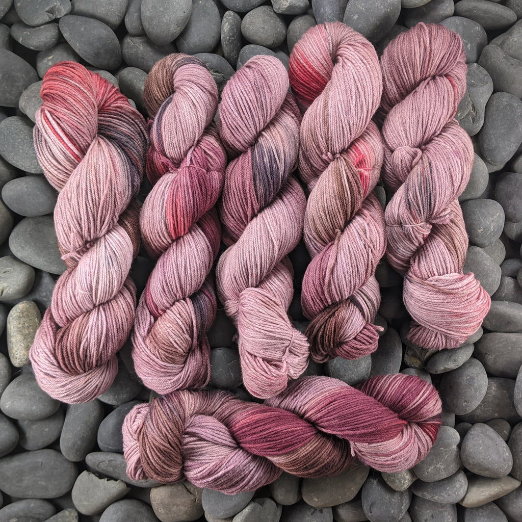 I Never Learned the Rules on Hand Dyed SW Targhee Nylon Sport Yarn - 100 g