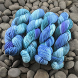 The Vaulted Sky on Targhee Sport Yarn - 100 g
