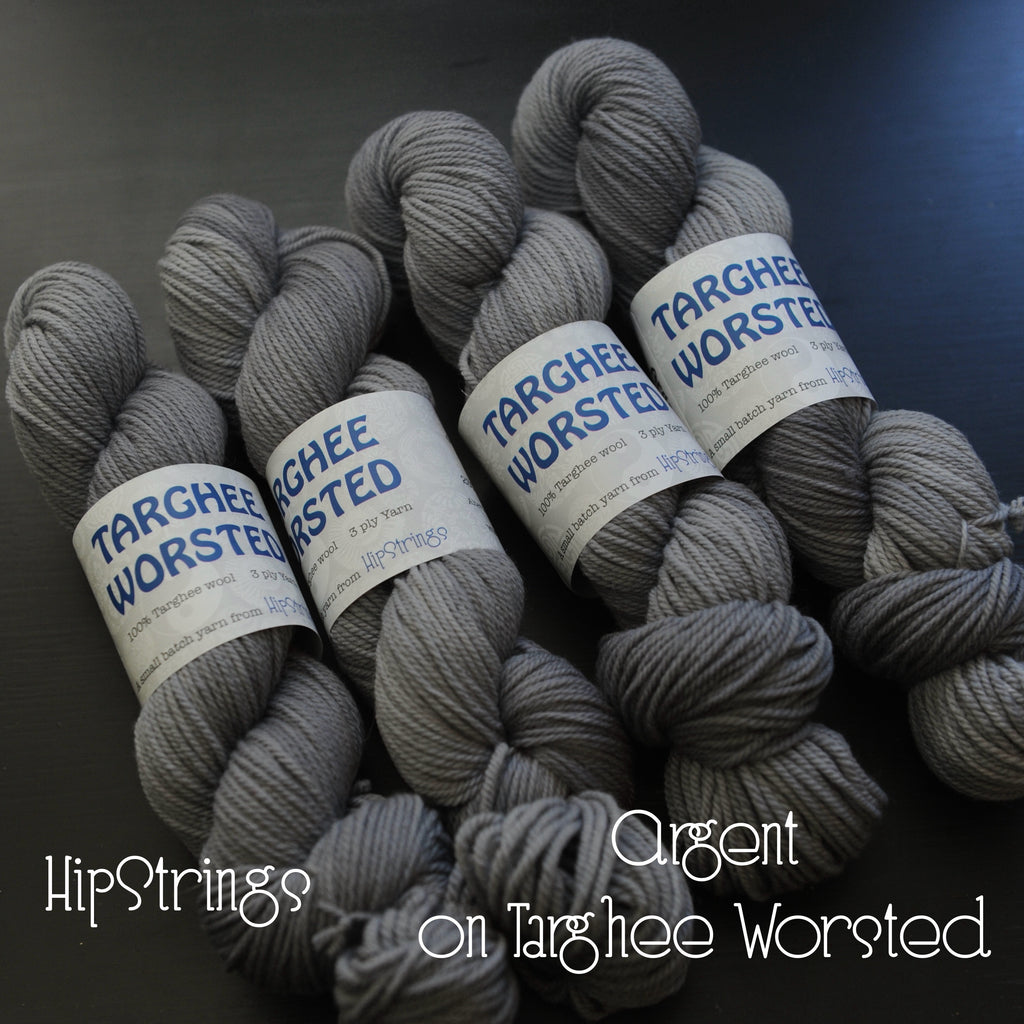 Argent on Targhee Worsted