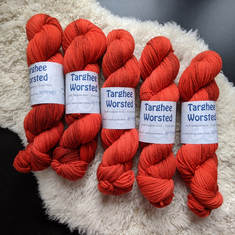 Roobois on Targhee Worsted