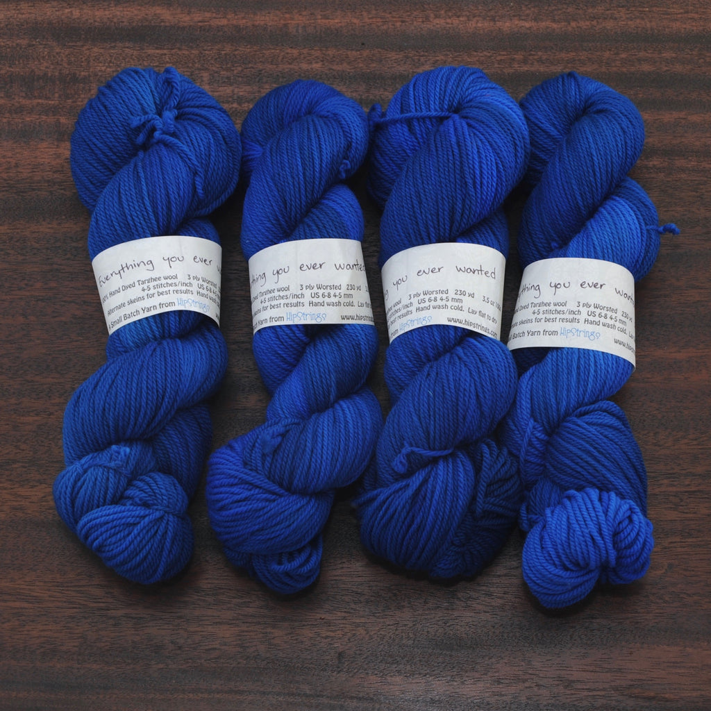 Everything you ever wanted on Targhee Worsted