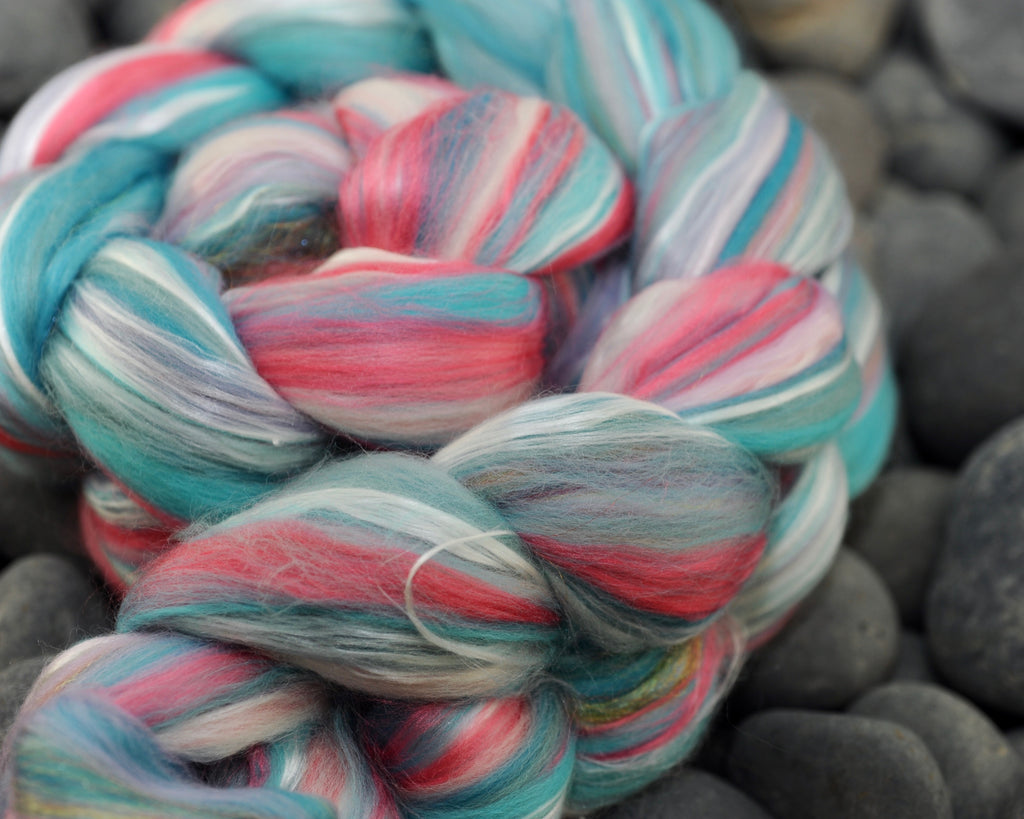 Unicorn Dance Party Merino Bamboo Silk Sparkle Signature Blend