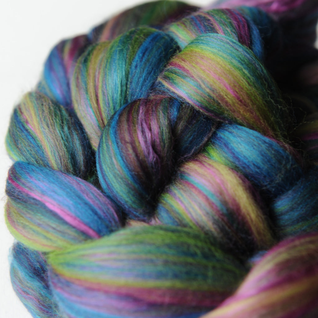 Peacocky Merino Silk Signature Blend