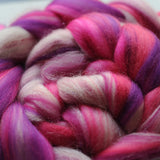 Unicorn Seeks Soulmate Merino Sparkle Custom Blended Top - 4 oz