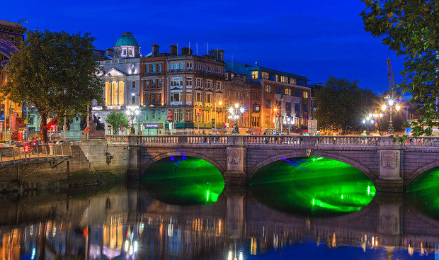 Ottawa to Dublin, Ireland - $574 CAD roundtrip including taxes | May and June 2016