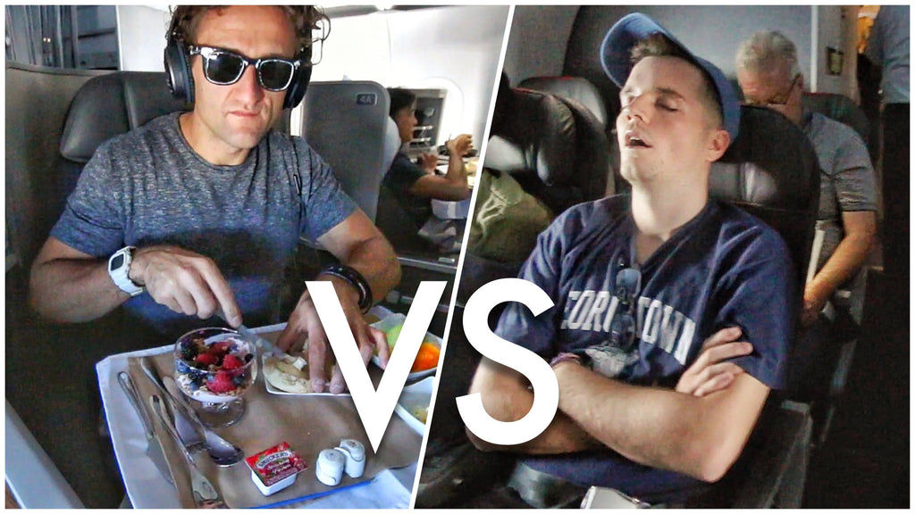 Airplane Food In Economy Vs. First Class On 5 Airlines
