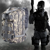Military Tactical Hunting Assault Camouflage Backpack for Men Oxford Sport Bag 30L