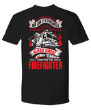 Firefighter's teeshirt - Wear with Pride