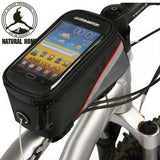 Bicycle Bags & Panniers - Bicycle Front Bag For Smart Phone Etc. - FREE SHIPPING