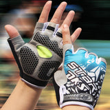 Cycling Gloves - FREE SHIPPING - New Gel Pad Cycling Glove Half Finger Men Mountain Bike