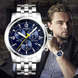 Luxury Watches - Luxury Full Stainless Steel Mechanical Watch - FREE SHIPPING