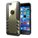 Phone Bags & Cases - FREE SHIPPING - Shockproof Rugged Rubber Hard Armour Case Cover For IPhone 6 Plus