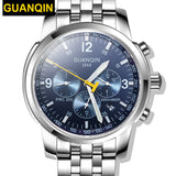Sports Watches - GUANQIN Men Luxury Brand Full Steel Watch - FREE SHIPPING