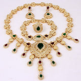 Women's Jewelry - Indian Wedding Fashion Jewelry Sets, African Bead, Necklace And Bracelet