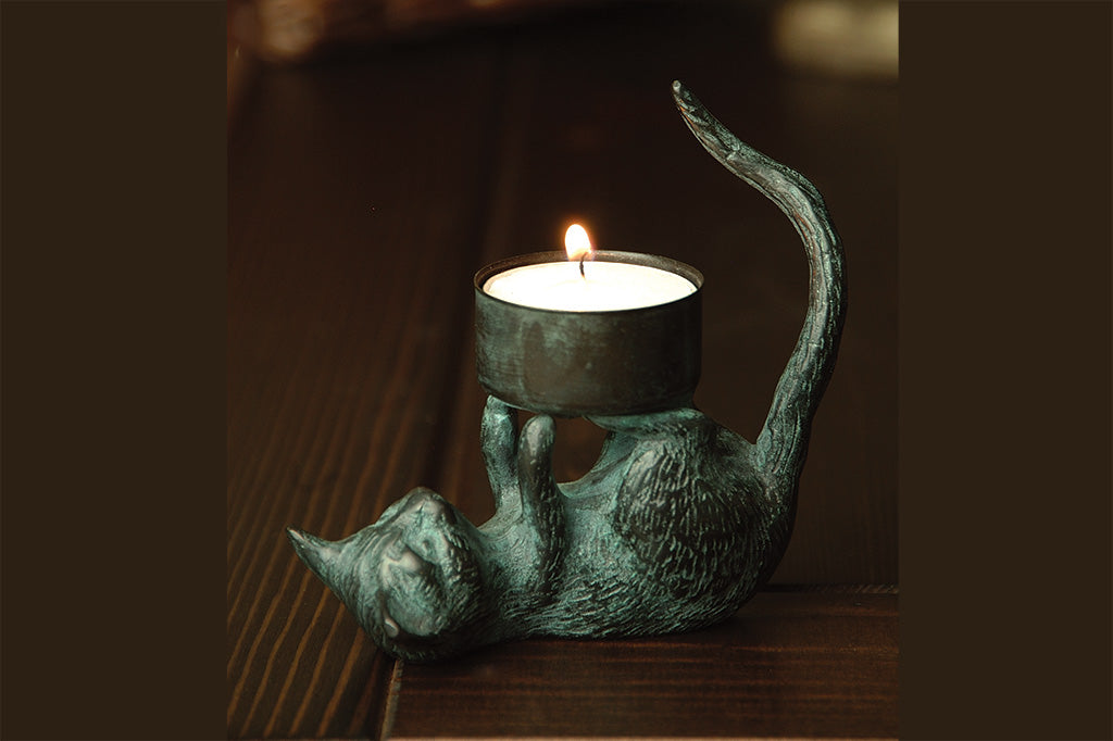 Cat Tealight Holder