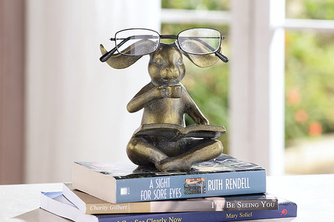 Reading Rabbit Eyeglass Stand