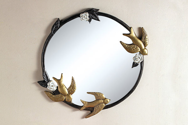 Birds in Flight Wall Mirror