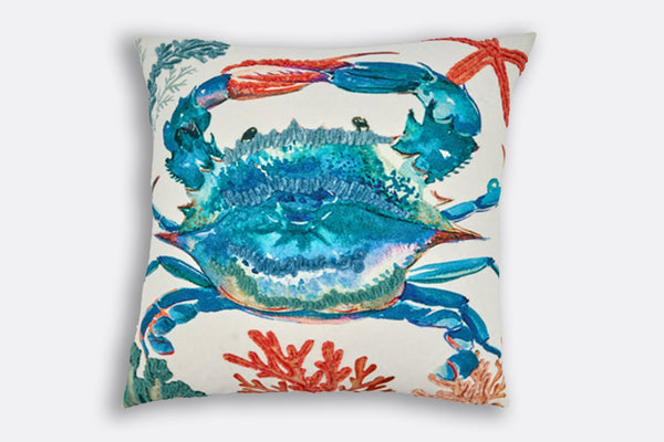 Chesapeake Blue Crab Pillow