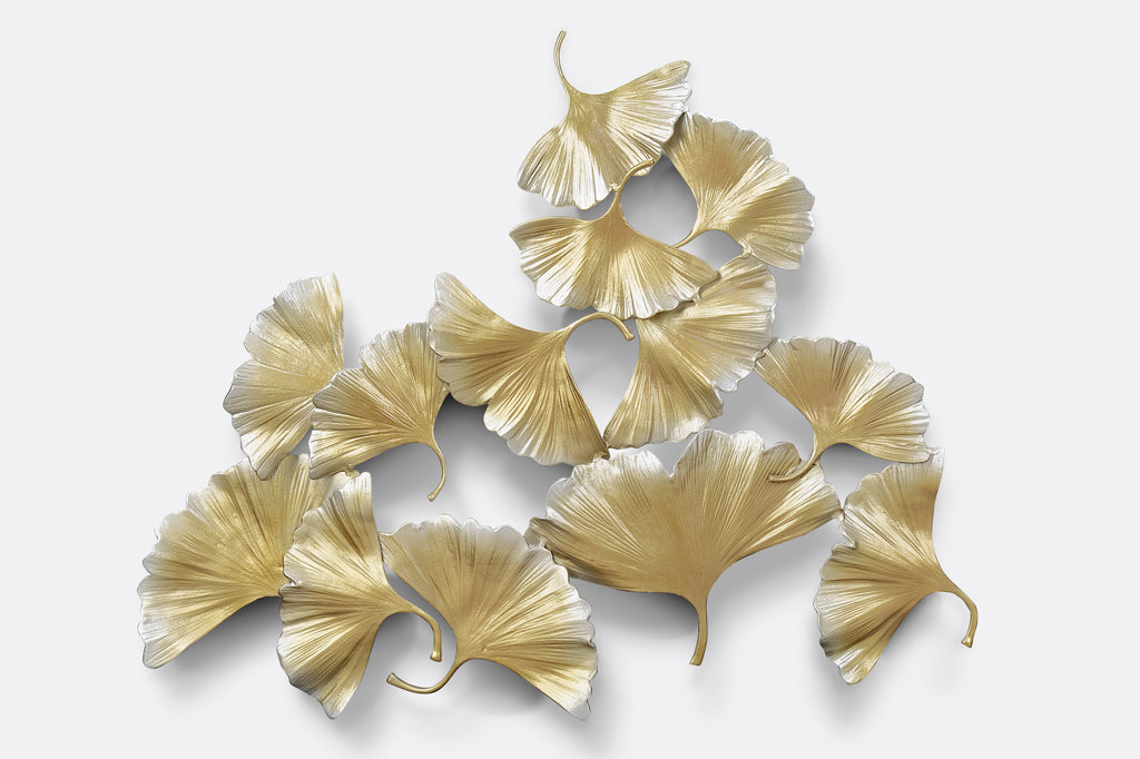 Floating Gingko Wall Art