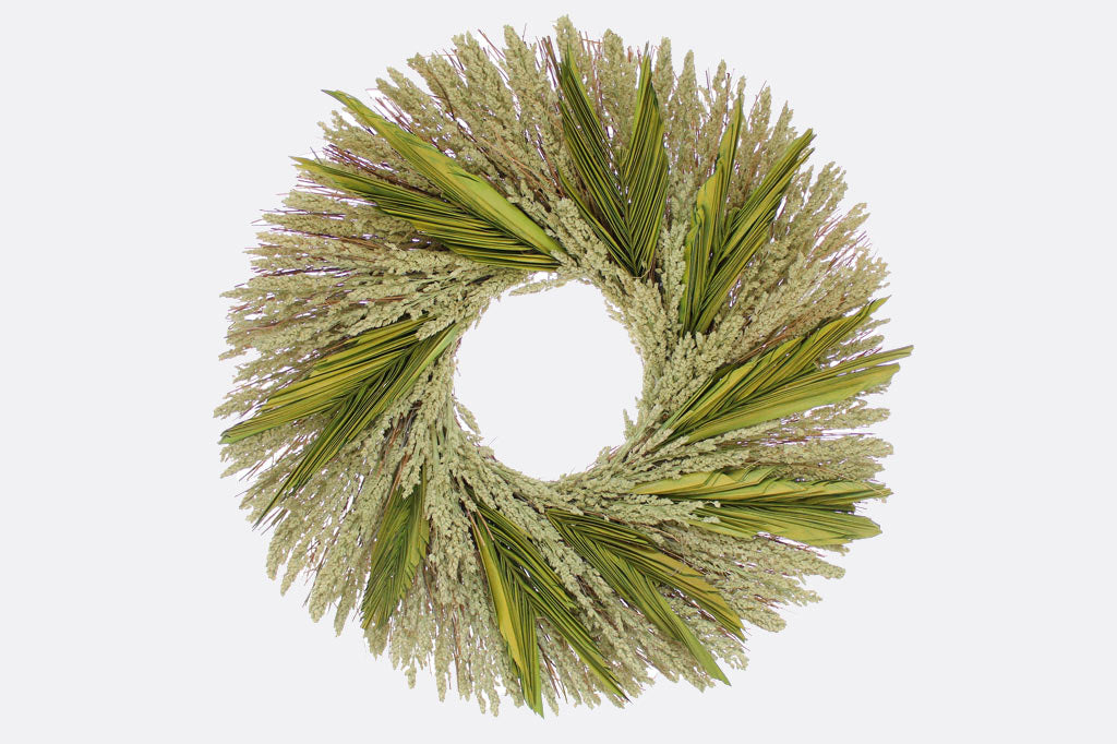 "Mélange de Grains 22"" Wreath"
