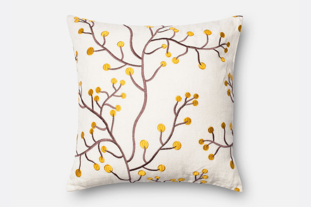 Stylized Mimosa Pillow