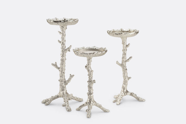 Pacifica Pillar Candleholders Set of 3