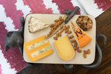 Whimsical Cat Cheeseboard with Knife