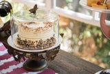 Whimsical Butterfly Cake Stand