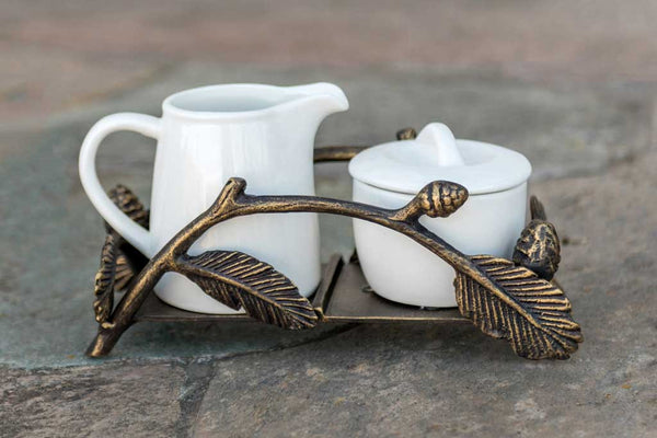 Aspen Sugar and Creamer Set