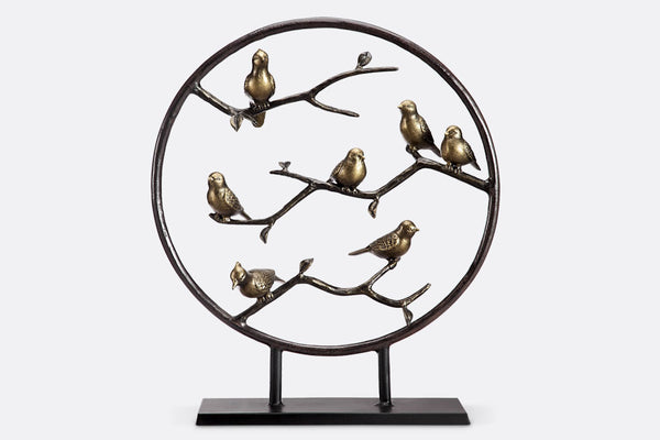 Brindille North American Birds Sculpture